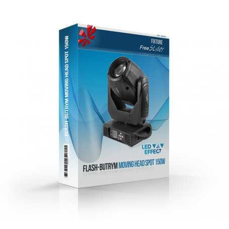 Flash-Butrym Moving Head Spot 150W
