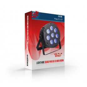 Light4me QUAD PAR 8x10 MKII RGBW