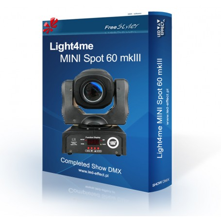 Light4me MINI Spot 60 mkIII - SHOW DMX