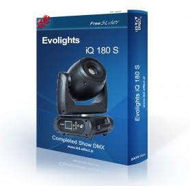 Evolights iQ-160 S / iQ-180 S - SHOW DMX