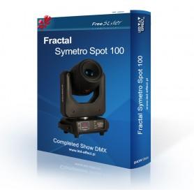 Fractal SYMETRO Spot 100 - SHOW DMX