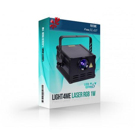 Light4me Laser RGB 1W