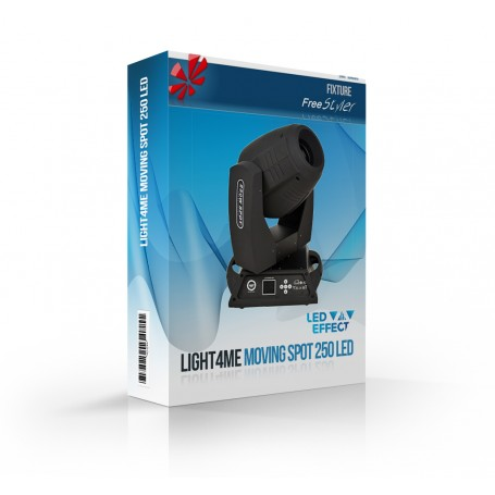 Light4me Moving Spot 250 LED