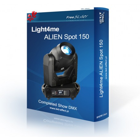 Light4me ALIEN Spot 150 - SHOW DMX