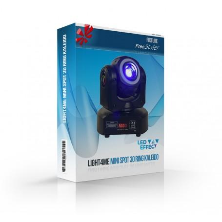 Light4me MINI SPOT 30 RING KALEIDO