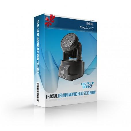 Fractal LED MINI Moving Head 7x10 RGBW / Light GO! Wash MINI 4