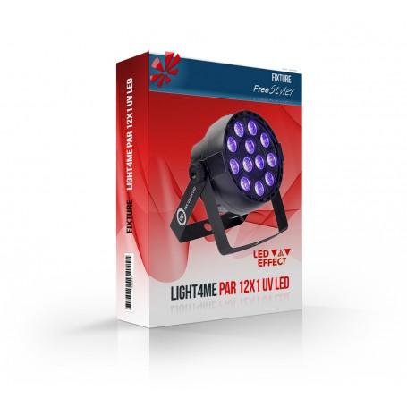 Light4me PAR 12x1 UV LED