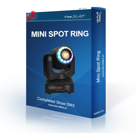 Light4me MINI Spot 30 RING / Fractal Mini Gobo Spot 60 RING - SHOW DMX