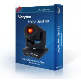 Varytec HERO Spot 60 - SHOW DMX