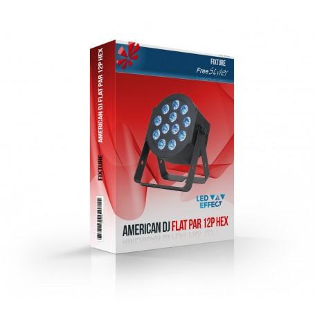 American DJ Flat Par 12P HEX