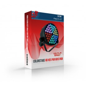 Colorstage HD HEX PAR 60x3 RGB