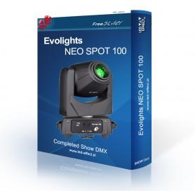 Evolights NEO SPOT 100 - SHOW DMX