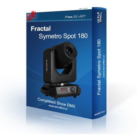 Fractal SYMETRO Spot 180 - SHOW DMX