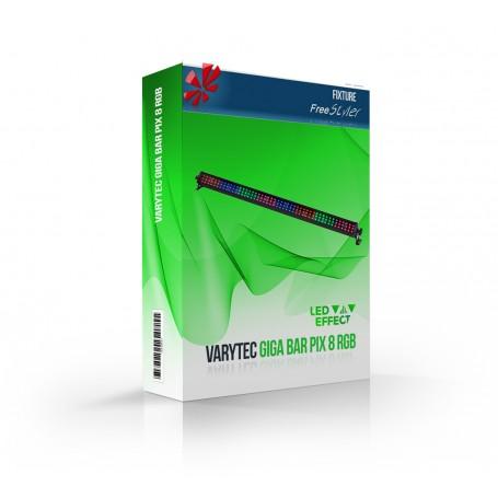 Varytec Giga Bar Pix 8 RGB