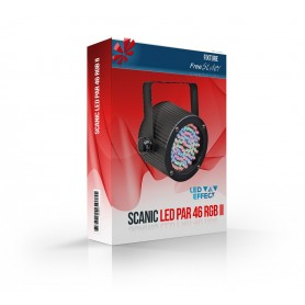 Scanic LED PAR 46 RGB II