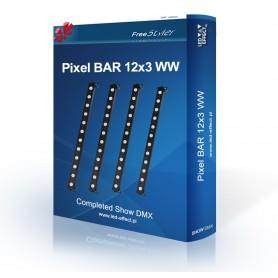 Light4me Pixel BAR 12 WW - SHOW DMX