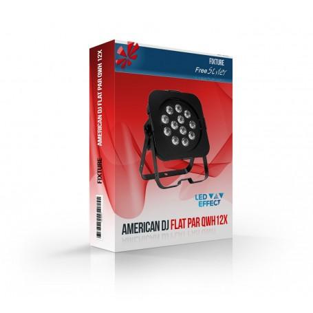American DJ Flat Par QWH12X