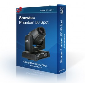 Showtec PHANTOM 50 Spot Show DMX